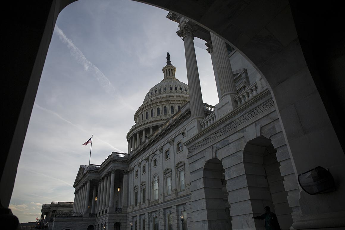 U.S. Capitol (Zach Gibson/Getty Images)