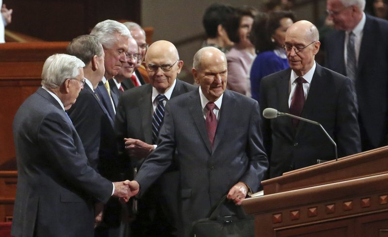 Mormon Leaders Focus On Spiritual Growth, Not Social Changes
