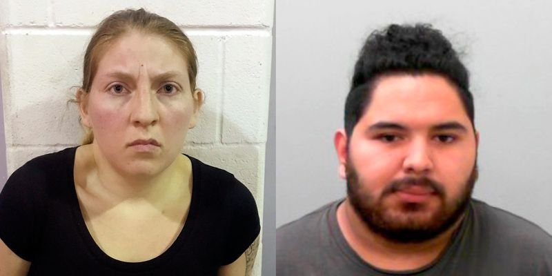 These undated photos provided by the Office of the Attorney General of Texas show Sarah Rashelle Almaguer and Christopher Almaguer. (Photo: Office of the Attorney General of Texas via AP)
