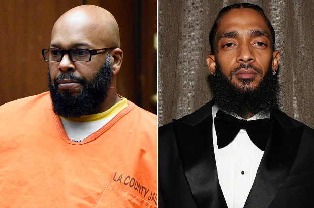 Suge Knight and Nipsey Hussle (Getty Images)