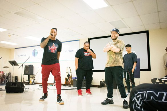 WATCH: Lecrae and the 116 Clique Visit Texas Prison During
