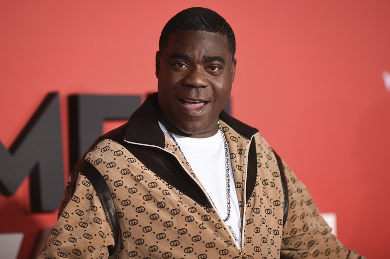 "FIL E- In this Jan. 28, 2019, file photo, comedian Tracy Morgan attends the LA Premiere of ""What Men Want"" at the Regency Village Theatre in Los Angeles. Morgan was involved in a minor traffic accident on Tuesday, June 4, 2019, while driving his 2019 Bugatti in New York City. Police say both vehicles sustained minor property damage and all parties refused medical attention, although photos of the scene show Morgan sitting in an ambulance. (Photo by Richard Shotwell/Invision/AP, File)"