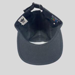 5 Panel Black Hat