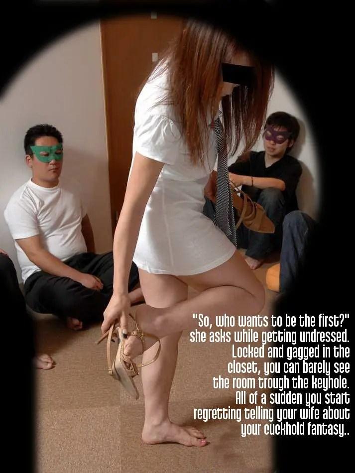Asian Cuckold Caption Stories - Part 1 - image  on https://blackcockcult.com
