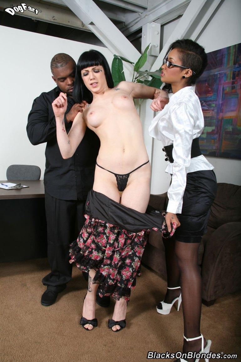 Jessica Bangkok Dominates Her White Hubby - image  on https://blackcockcult.com