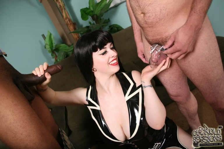 Cuckoldress Larkin Love - image  on https://blackcockcult.com