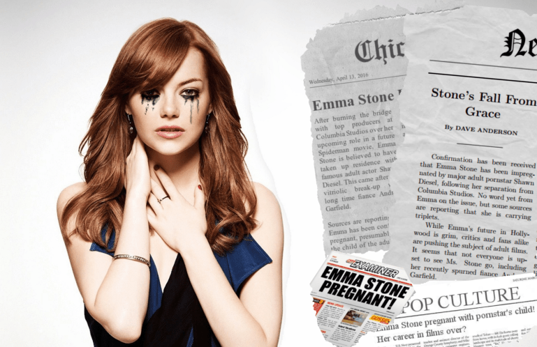 Emma Stone's Vogue Interview - image  on https://blackcockcult.com
