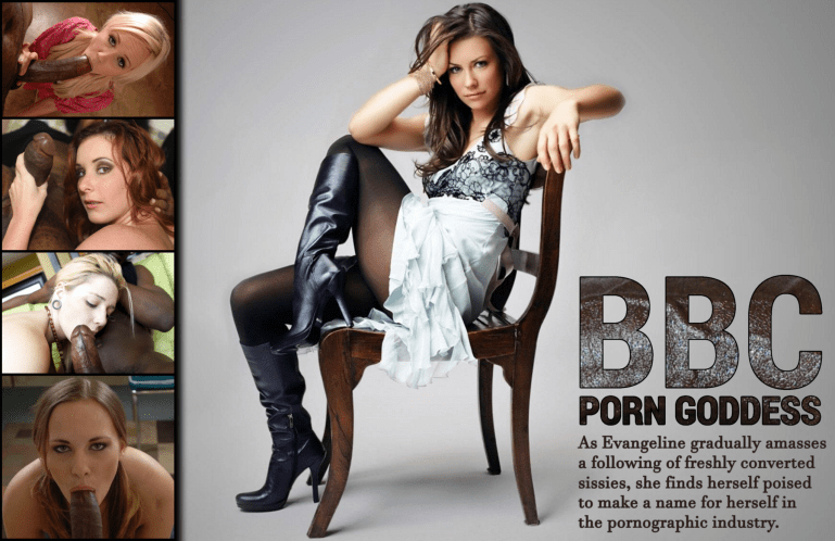 Evangeline Lilly's Sissy Training Academy - image  on https://blackcockcult.com