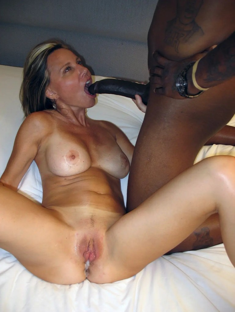Amateur MILFs Discovering The Bliss Of BBC - image  on https://blackcockcult.com