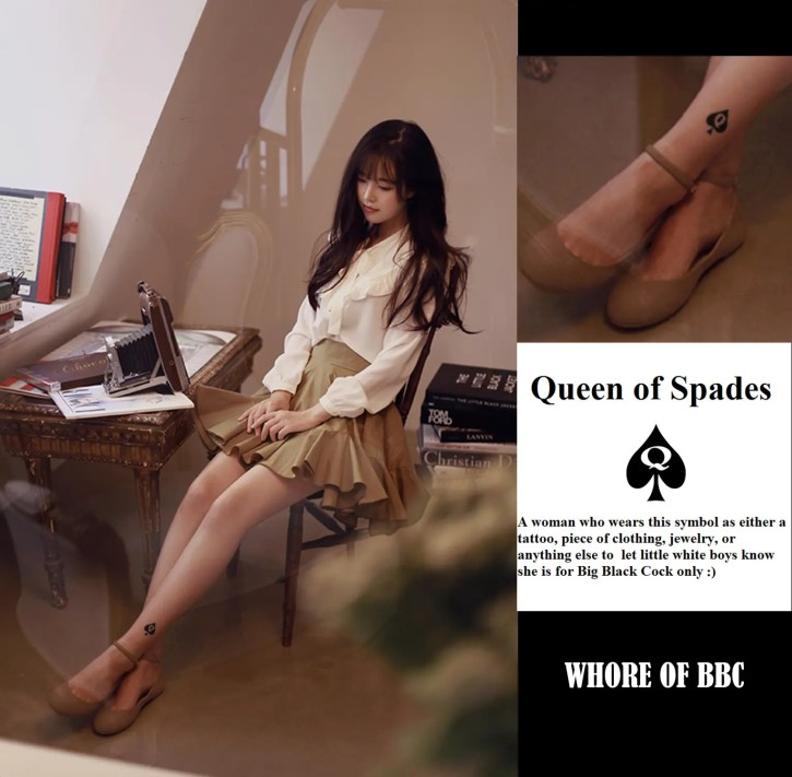 Queen of Spades: Marked Asian Women - image  on http://blackcockcult.com