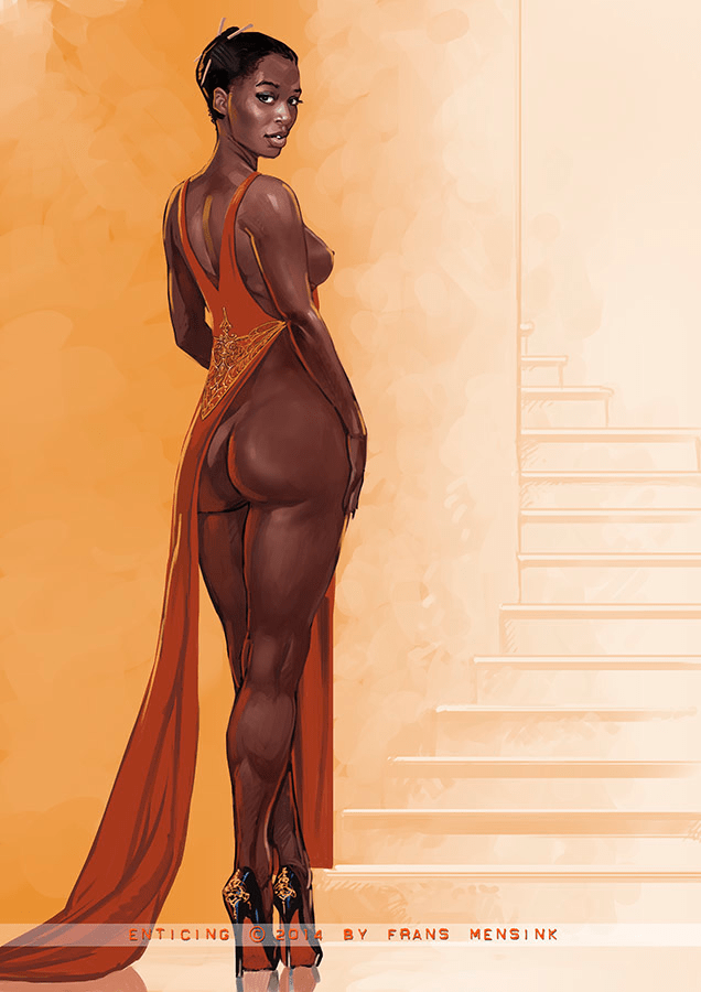 Black Women Are Divine - II - image  on https://blackcockcult.com
