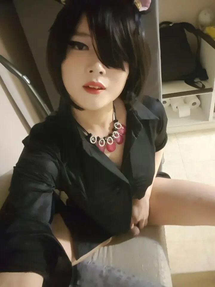 Feminized Asian Sissies - I - image  on https://blackcockcult.com