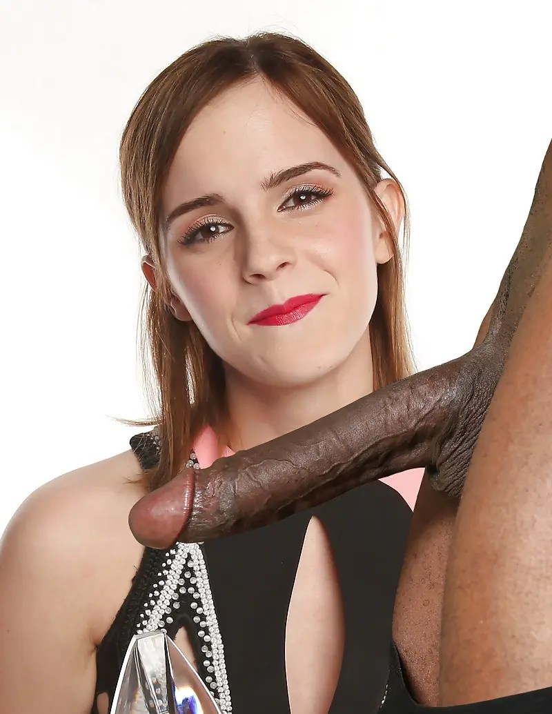 How Much Does Emma Watson Love Black Dick? - image  on http://blackcockcult.com