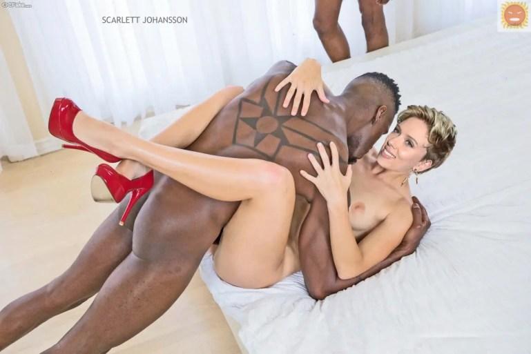 Black Cock Queens: Scarlett Johansson - image  on https://blackcockcult.com