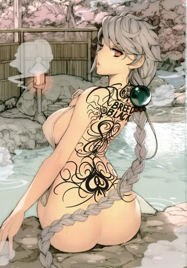 Queen of Spades Hentai - II - image  on https://blackcockcult.com