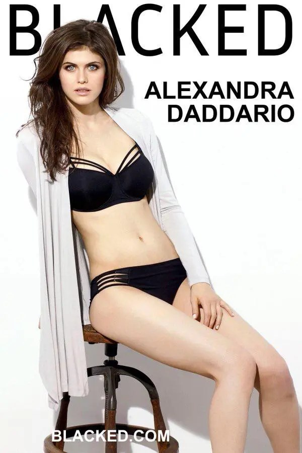 Blacked List: Alexandra Daddario - image  on https://blackcockcult.com