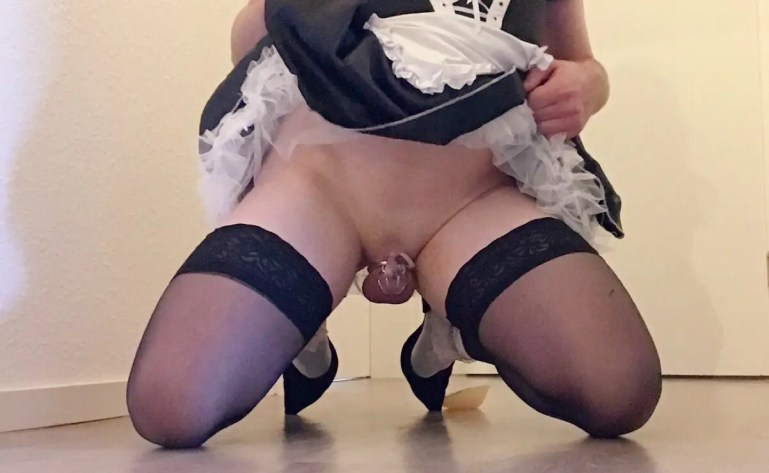 Properly Caged Sissies - image  on https://blackcockcult.com