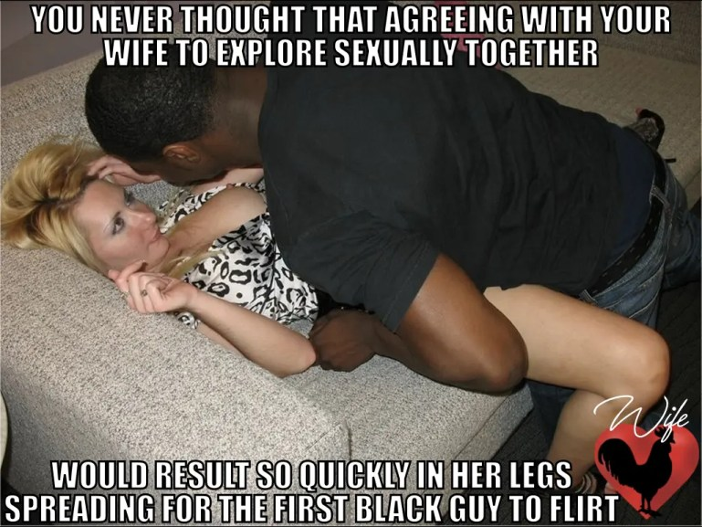 When White Wives Discover Black Cock - image  on https://blackcockcult.com