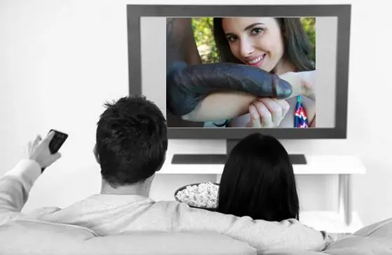 Movie Night For White Couples - image  on https://blackcockcult.com