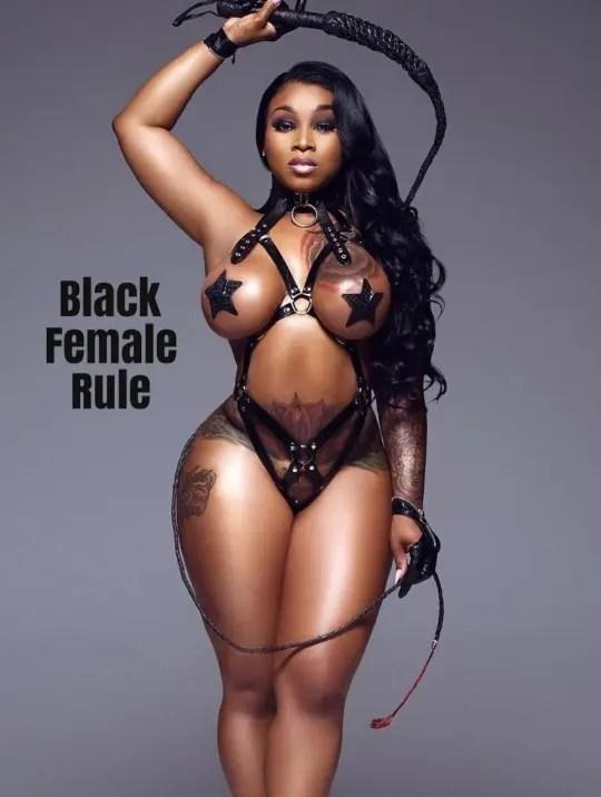 Sadistic Lesbian Queens - image  on https://blackcockcult.com