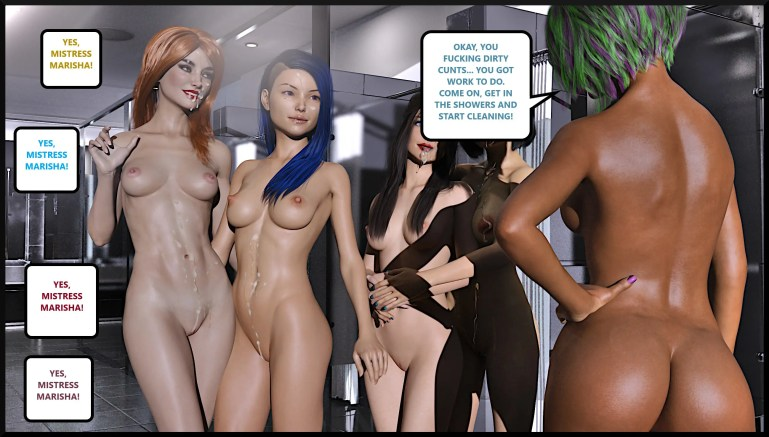 Black Lesbian Goddess Artwork - image  on https://blackcockcult.com