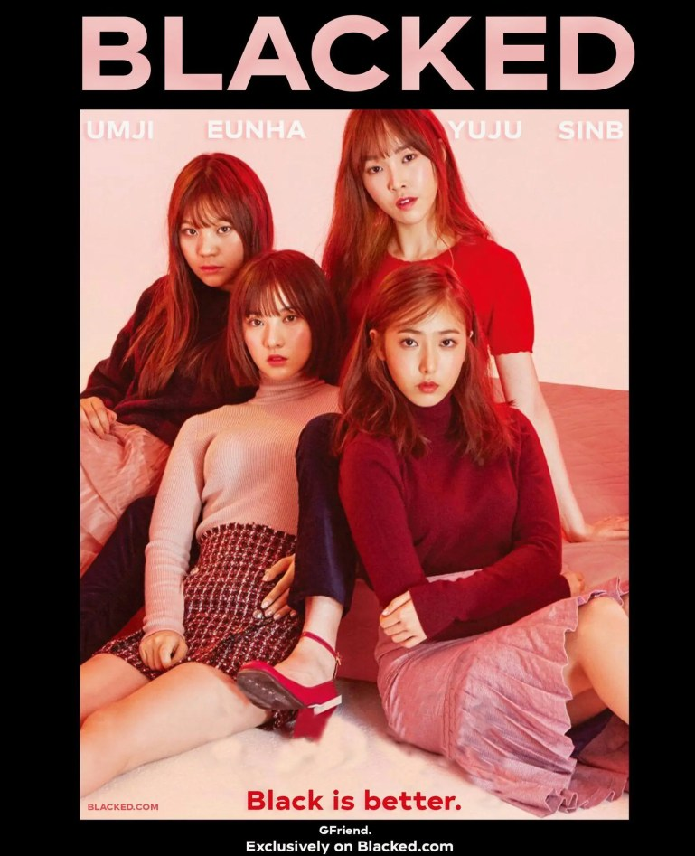 BlackedPink: K-pop Group Goes Dark - image  on https://blackcockcult.com
