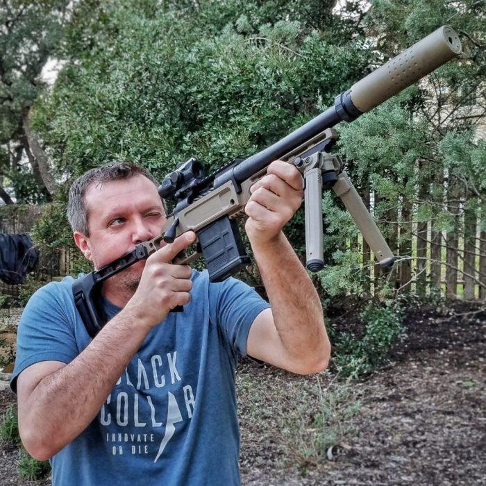Pork Sword Chassis Pistol Chris