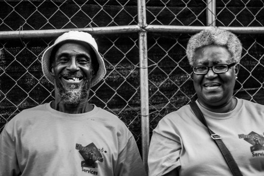 """""""Mr. and Mrs."""" The only older black couple in the park, these two were running security near the media tents in Union Park and I found their presence encouraging."""