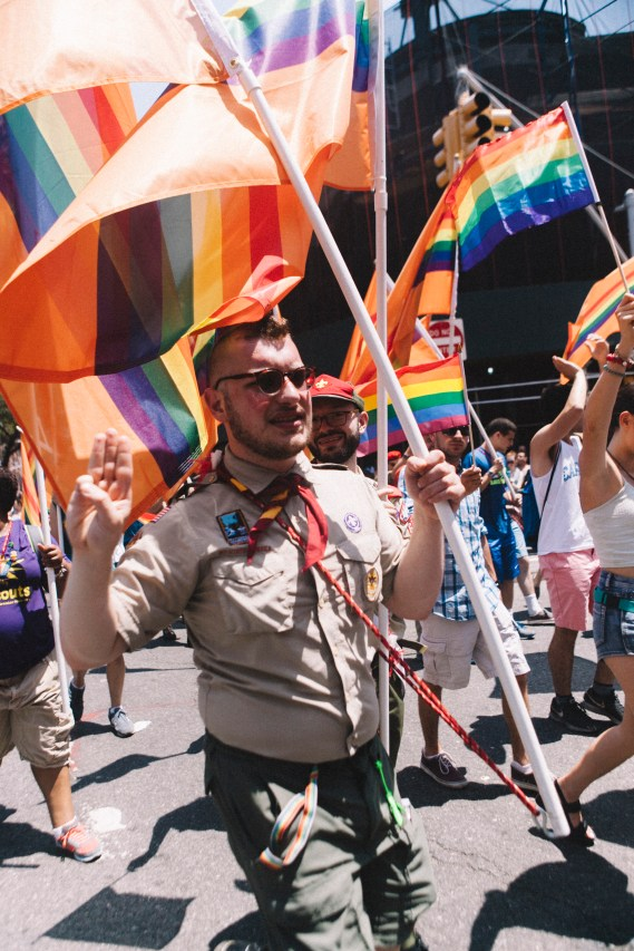 """Boy Scouts And Gay Pride"""