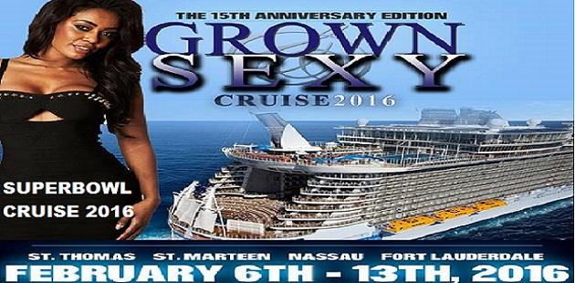 2016 Grown And Sexy Superbowl Cruise Blackcruisetravel Com