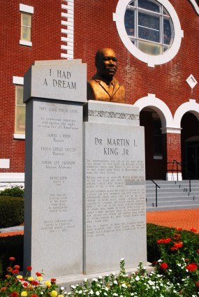 Memorial to Martin Luther King, Slema Alabama