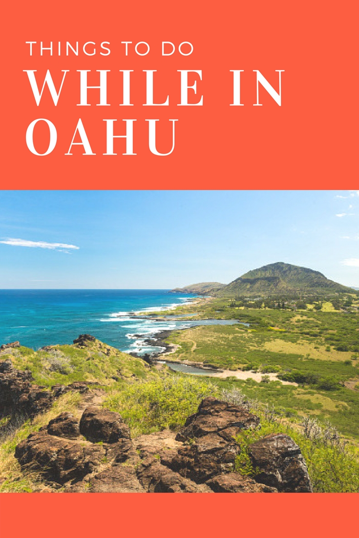 Oahu is the third largest Hawaiian island. The majority of the locals live  here, which means there are plenty of things to do. The next time you are  in Oahu ...