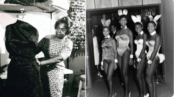 African American Designer Zelda Wynn Valdes Designed The First Ever Playboy Bunny Costumes Blackculturenews Com