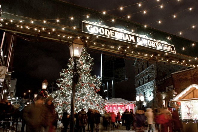Toronto Christmas Market in the Distillery District 2014