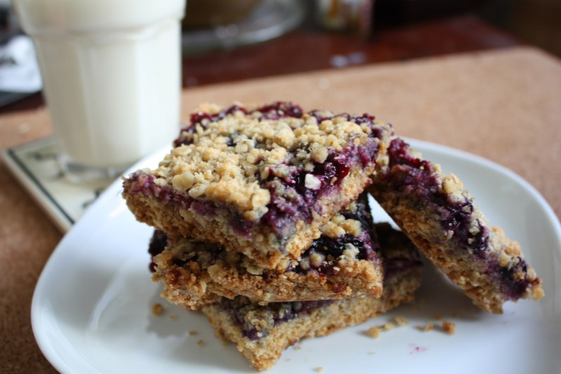 Fruit Filled Oatmeal Bars