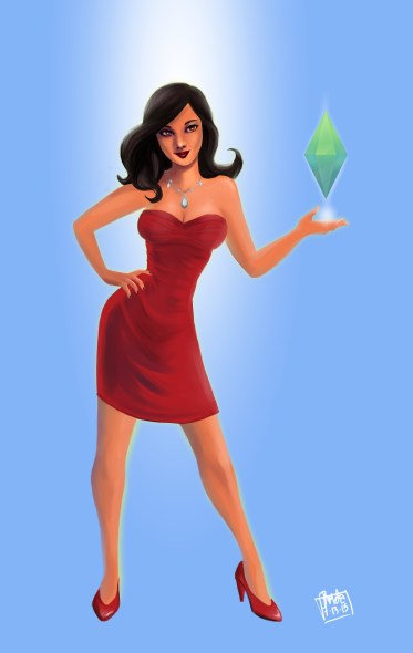 Bella Goth - The Sims