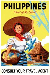 Philippines Vintage Travel Posters