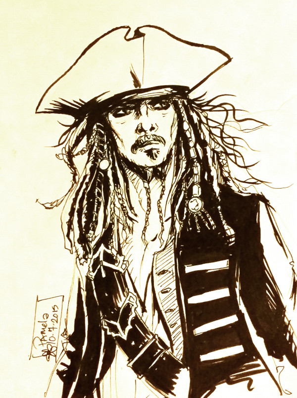 Day 7 - Captain Jack Sparrow