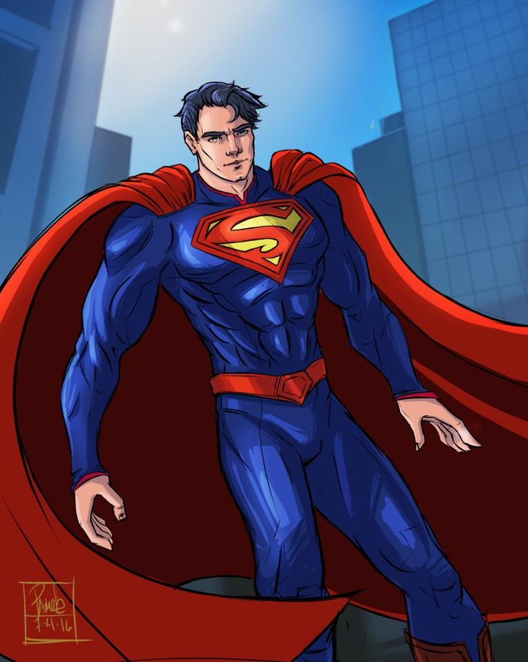 Superman by Blackdaisies