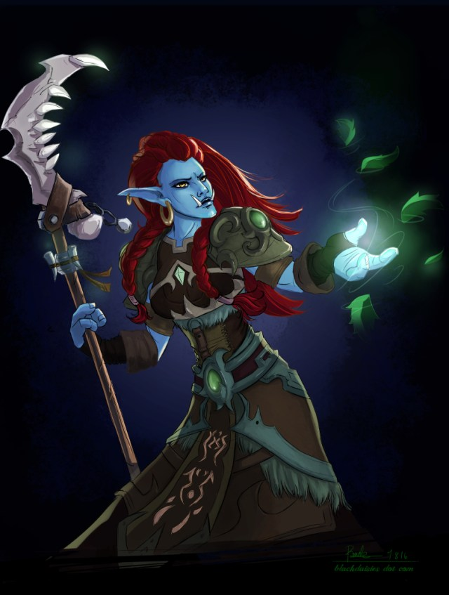 Vonjahi the troll druid