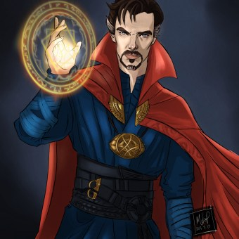doctor strange by Blackdaisies