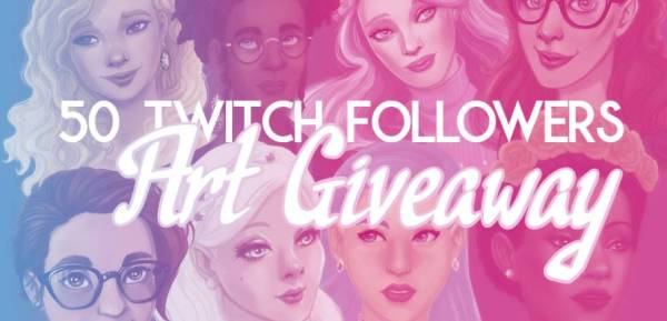 Artwork Giveaway on Twitch!