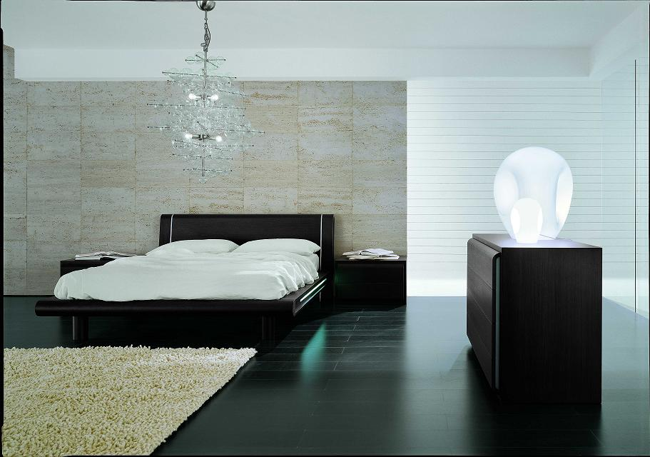 Bed With Nightstands And Dresser