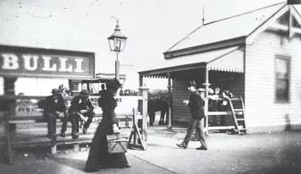 A Telegraph and Post Office at Bulli Station c. 1887