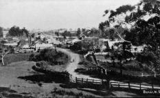 A view of Old Bulli in the times of Henry Fry