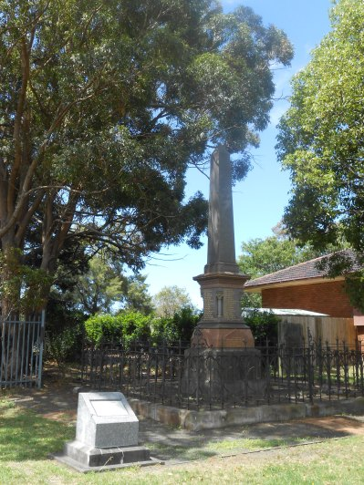1887 Bulli Mine Disaster Memorial Obelisk