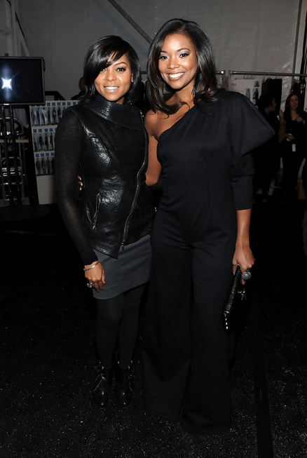 A press image of Gabrielle Union and Taraji P. Henson