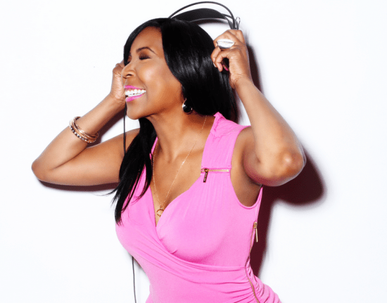 A profile image of Ebony Steele in a pink top