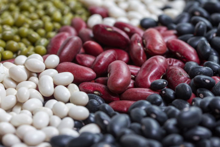 variation of dried beans