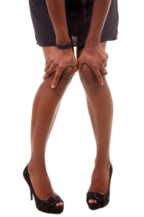 dark knees